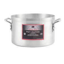 Winco Axap-8, 8-Quart Sauce Pot with 4-mm Super Aluminum Bottom, Nsf