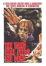 The Hand that feeds the dead - DVD Region 1 english / italian Euro Shock Cinema