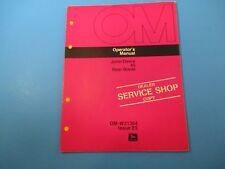 John Deere Operator's Manual Om-W21364 45 Rear Blade Issue E5 M5095