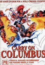 Carry on Columbus DVD R4 RARE OOP Australian Release Aus Post