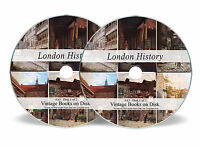 Rare Vintage Books on DVD London History City North South East West Victorian A3