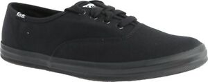 Keds Champion Oxford Canvas Sneaker (Women's Shoes) in Black/Black - NEW