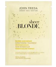 John Frieda Sheer Blonde Hair Repair Conditioning Treatment Sachet 25ml NEW