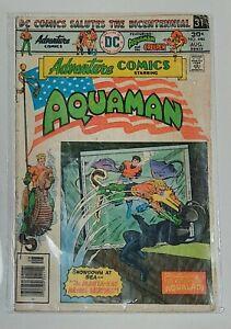 DC Comics Adventure Comics Starring Aquaman 1976 Aug #446