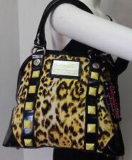 Betseyville Betsey Johnson Multi Color Animal Print Shoulder Bag Satchel Purse