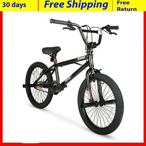 """20/"""" Spinner BMX Bike Gloss Black Steel Frame /& Single Speed With FREE SHIPPING"""