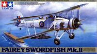 Tamiya 61099 1/48 Scale Model Aircraft Kit WWII Fairey Swordfish MK.II