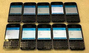 Lot of 50 Pieces of Blackberry Q20 Phone Clean IMEI Wiped Camera