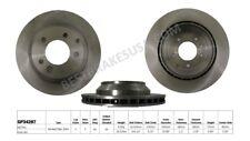 Disc Brake Rotor-Standard Brake Rotor Rear Best Brake GP34287