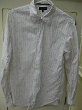 Herren Tommy Hilfiger 39 / M weiß gestreift Muster floral