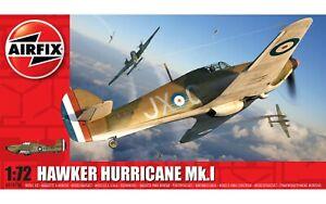 Brand New Airfix 1:72nd Scale Hawker Hurricane Mk.I Model