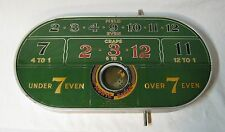 Vintage H. C. Evans Monte Carlo Game Trade Stimulator Gambling Dice Game