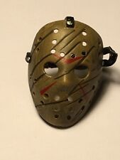 JASON VOORHEES Scratched MASK #2 • NECA FRIDAY THE 13TH ACCESSORIES