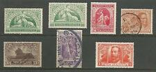 NEW ZEALAND THE 1920 GV VICTORY SET MIXED MINT & USED INC BOTH HALFPENNIES C.£89
