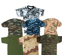 TOP GUN KIDS CAMO T-SHIRT CHILDREN ARMY CLOTHING COMBAT UNIFORM CADET CAMOUFLAGE