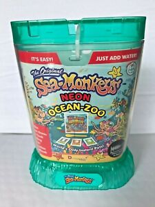 Amazing Live Sea Monkeys Ocean Zoo Marine Aquarium NEON Sea Foam 23232