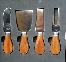 Funtree Cheese Knife Set European Dark Wood Handle Flat Gift Packing