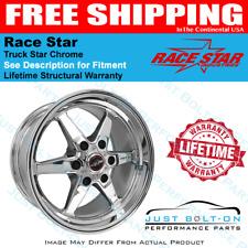 Race Star 93 Truck Star Chrome 17x9.5 6x5.50bs 6.625bc 93-795653C