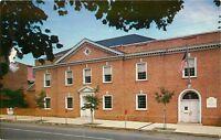 Historical Society Museum York County Pennsylvania PA Library Meeting Postcard