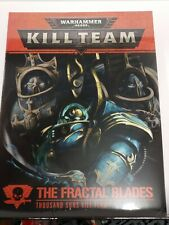 Kill Team Fractal Blades Rules Cards Tokens Missions - Sealed -