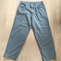 Lucky Brand Men's Fatigue Army Sage Green Cotton Chino Khaki Pants Size 38