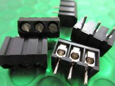 3-Way, 3 PIN, PCB Screw Terminal Block, Panel Mount Solder, L2752/3, *10 per*