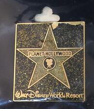 Planet Hollywood ORLANDO 2000s Hollywood Walk of Fame STAR PIN Walt Disney World