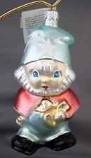 Christopher Radko Santa's Helper 1992 Ornament 92-078-0 Elf Star Hat Pale Green
