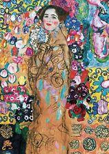 Gustav Klimt - Portrait of Ria Munk III - A2 Canvas Print 42x59.4cm Unframed