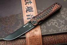 Couteau Kizlyar Supreme Whisper D2 Tanto Manche G-10 Made In Russia KK0118