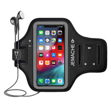 iPhone XS Max Armband, Water Resistant Running/Gym Sport Arm Band + Card Holder