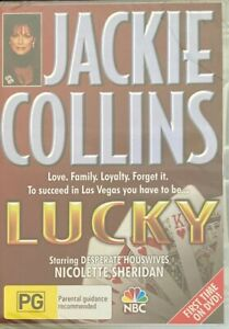 Lucky - Jackie Collins (DVD, 2006)  Nicolette Sheridan *RARE* BRAND NEW & SEALED