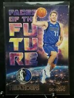 Luka Doncic 2018-19 Panini NBA Hoops Faces of the Future RC GEM MINT!!