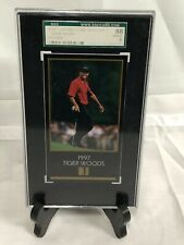 1997 Grand Slam Ventures Masters Collection Tiger Woods RC Rookie SGC 88 NM/MT 8
