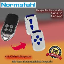 Handsender Garagentorantriebe 433,92 MHz NORMSTAHL EA433 4KS Funksender