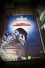 ALIEN VS PREDATOR  Style A 4x6 ft Bus Shelter D/S Movie Poster Original 2004