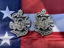 Harley Davidson Oak Leaf Sportster Tank emblems Vintage 1909 Tank Badges