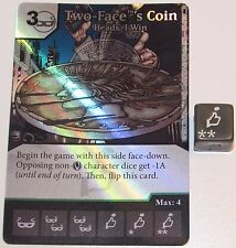 Foil TWO-FACE'S COIN: HEADS, I WIN 78/124 Batman Dice Masters DC