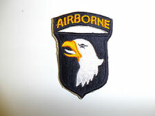 0393 WW2 US Army 101st Airborne Division White tongue Parachute Infantry R3A