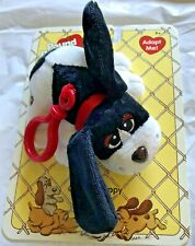 Pound Puppies Clip on black and white pup