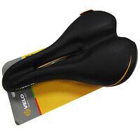 VELO Plush P-VL3147 Men's TrimFlex m0 Experience Comfort Saddle Seat - Black