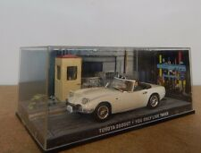 James Bond Car Collection-toyota 2000Gt You only Live Twice 1:43rd scale