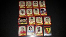 lot image  foot  panini 87  equipe  complete   rc lens