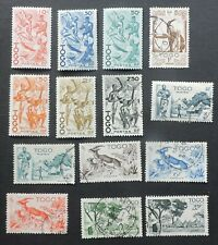 1947 part set 14 of 18 from Togo 5 Mh 9 used Cv £22+