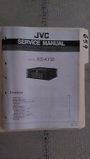 JVC ks-a150 service manual original repair book stereo power amp amplifier