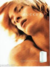 PUBLICITE ADVERTISING 116  2001  Gucci parfum homme Rush  for men
