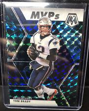 2020 NFL Panini Mosaic TOM BRADY MVP Genesis Prizm SSP #298 Football like nebula