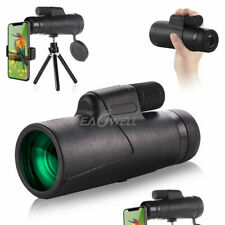 Us 10X42 Zoom Optical Hd Camera Lens Monocular Telescope +Tripod+ Phone Clip Kit
