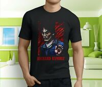 New Popular Vtg Richard Ramirez The Night Stalker Men's Black T-Shirt S-3XL