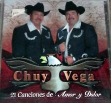Chuy Vega - 12 Canciones de Amor y Dolor [New CD]